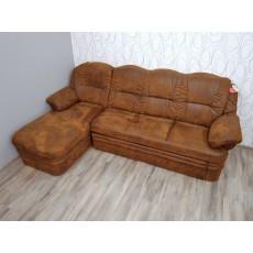 Rohová sedací souprava rozkládací 16245A 100x150x250 cm textilie