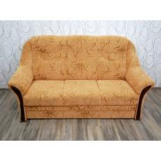 Sofa trojkřeslo rozkládací 16369A 105x190x90 cm textilie dřevo
