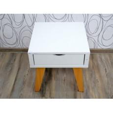 Noční stolek 16251A 46x50x50 cm dřevolaminát dřevo