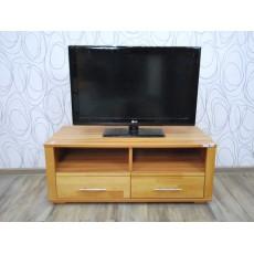 Skříňka pod TV 16535A 40x100x45 cm buk masiv dřevolaminát