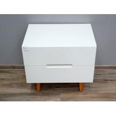 Noční stolek LINDHOLM 17123A 51x55x40 cm dřevolaminát