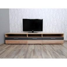Skříňka pod TV BAJA I 16006A 42x215x50 cm dřevolaminát
