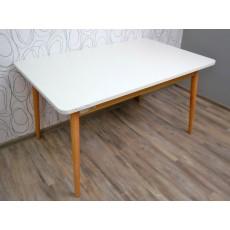 Jídelní stůl rozkládací LINDHOLM 17069A 76x90x140 cm MDF dub masiv