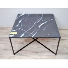 Konferenční stolek KATORI II 16186A 46x80x80 cm kov sklo