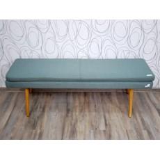 Lavice NICHOLAS 17355A 45x140x40 cm dub textilie