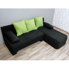 Rozkládací sedací souprava s úložným prostorem 17450A 70x190x140 cm textilie