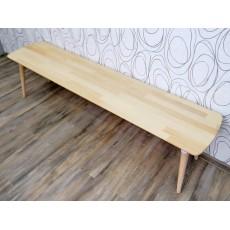 Lavice FINSBY 17477A 45x180x40 cm bukové dřevo