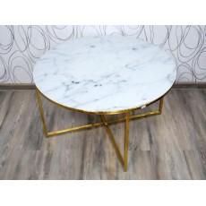 Konferenční stolek KATORI I 17523A 45x80 cm sklo kov
