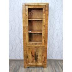 Vitrína CHENNAI 17558A 179x65x40 cm dřevo mango masiv