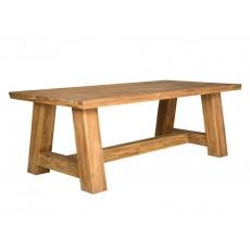 Jídelní stůl ARO 17377A 79x220x110 cm teak masiv