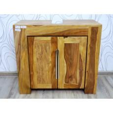 Koupelnová skříňka pod umyvadlo STARK BAD 17621A 61x68x31 cm palisandr masiv