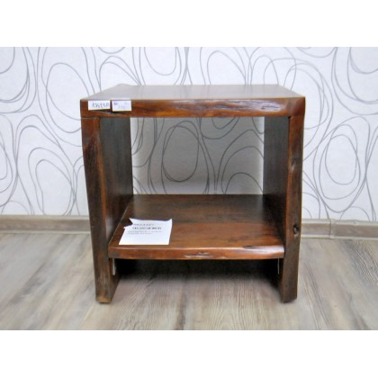 Noční stolek CARLOW 17622A 46x45x42 cm akácie masiv