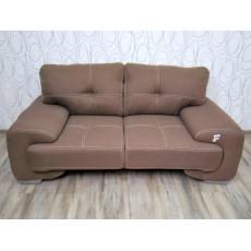 Sofa dvojkřeslo 17625A 90x180x100 cm textilie