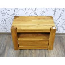 Noční stolek 16439A 42x61x35 cm dřevo masiv