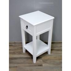 Odkládací stolek se šuplíkem Bader 17754A 76x36x36 cm dřevo MDF deska