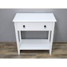 Odkládací stolek se šuplíkem Bader 17753A 76x72x36 cm dřevo MDF deska