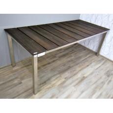 Zahradní stůl TEAKLINE PREMIUM I 17758A 75x200x90 cm teakové dřevo nerez