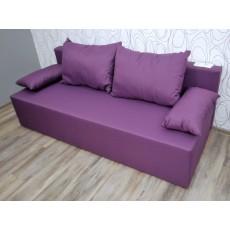 Sofa  trojkřeslo 17381A 78x190x85 cm textilie