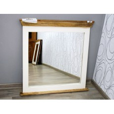 Zrcadlo s patinou TANZANIA 16409A 80x80x6 cm mango