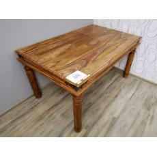Jídelní stůl MERLIN 19147A 75x150x90 cm palisandr masiv kov