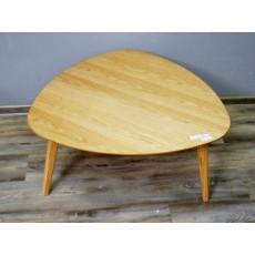 Konferenční stolek FABIANKI 19116A 41x80x80x80 cm MDF dřevo dub
