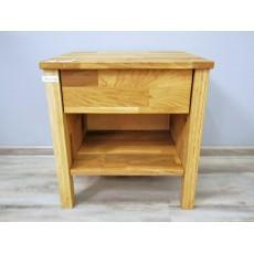 Noční stolek LayaWOOD 19224A 50x47x37 cm dub masiv