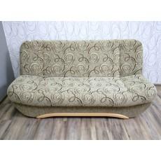 Sofa trojkřeslo rozkládací s úložným prostorem 19258A 95x200x90 cm textilie dřevo