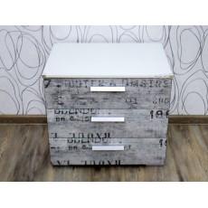 Noční stolek SUMATRA 19262A 49x55x42 cm dřevolaminát