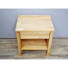 Noční stolek LAYA WOOD 19253A 50x47x37 cm buk masiv