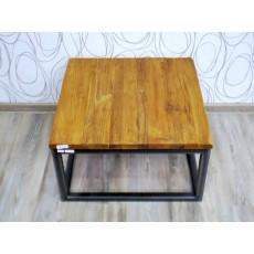 Konferenční stolek 17521A 35x60x60 cm akácie kov