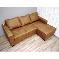 Rohová sedací souprava antik 19532A 200x140x85 cm mikroplyš textilie
