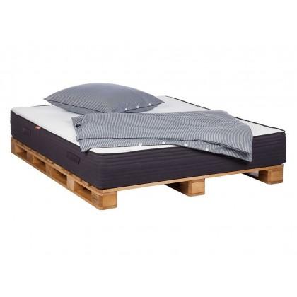 Manželská postel SMOOD typ paleta 19902A 15x200x140 cm dřevo borovice masiv