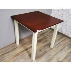 Jídelní stůl 19544 A 76x70x70 cm dřevo masiv dřevolaminát