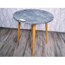 Jídelní stůl LEMMIE 19693A 75x80 cm dřevolaminát beton