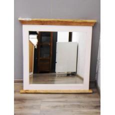 Koupelnové zrcadlo NEWHAVEN 19635A 80x80 cm dřevo mango masiv